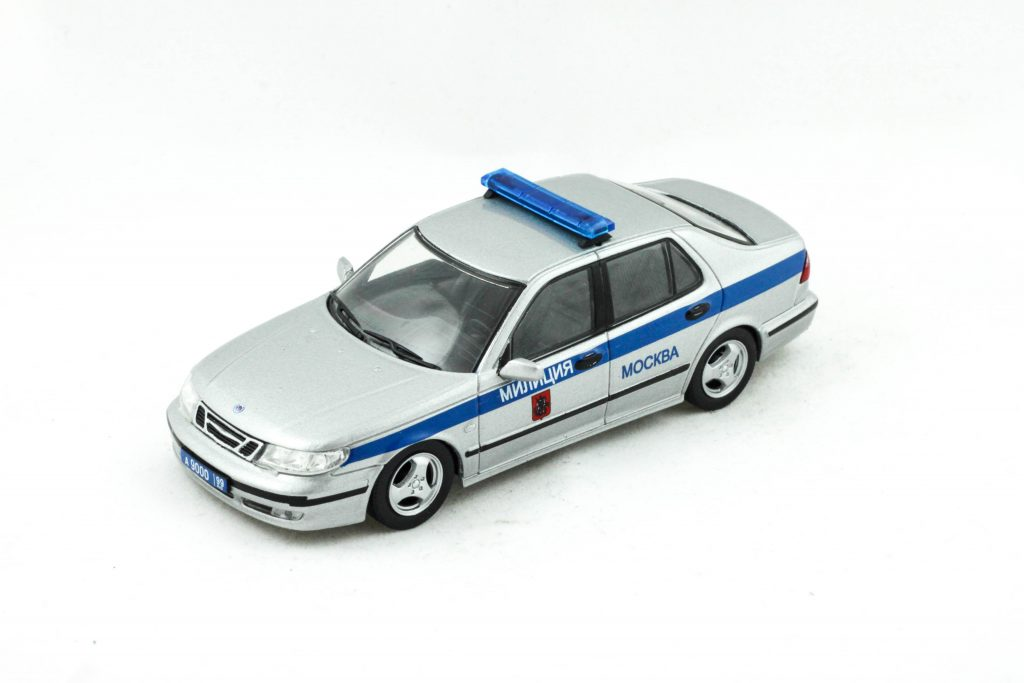 SAAB 9-5 Police Moscow Russia – De Agostini