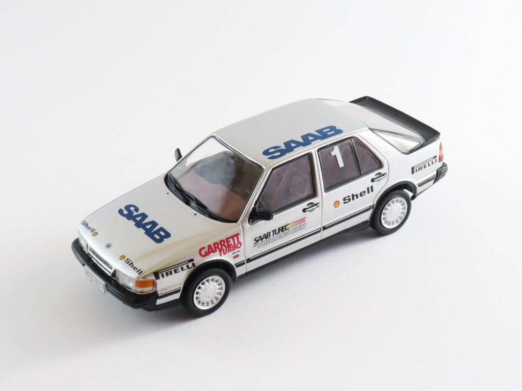 "Saab 9000 Turbo 16 Talladega ""The Longe Run"" (car 1)- Atlas Saab Car Museum"
