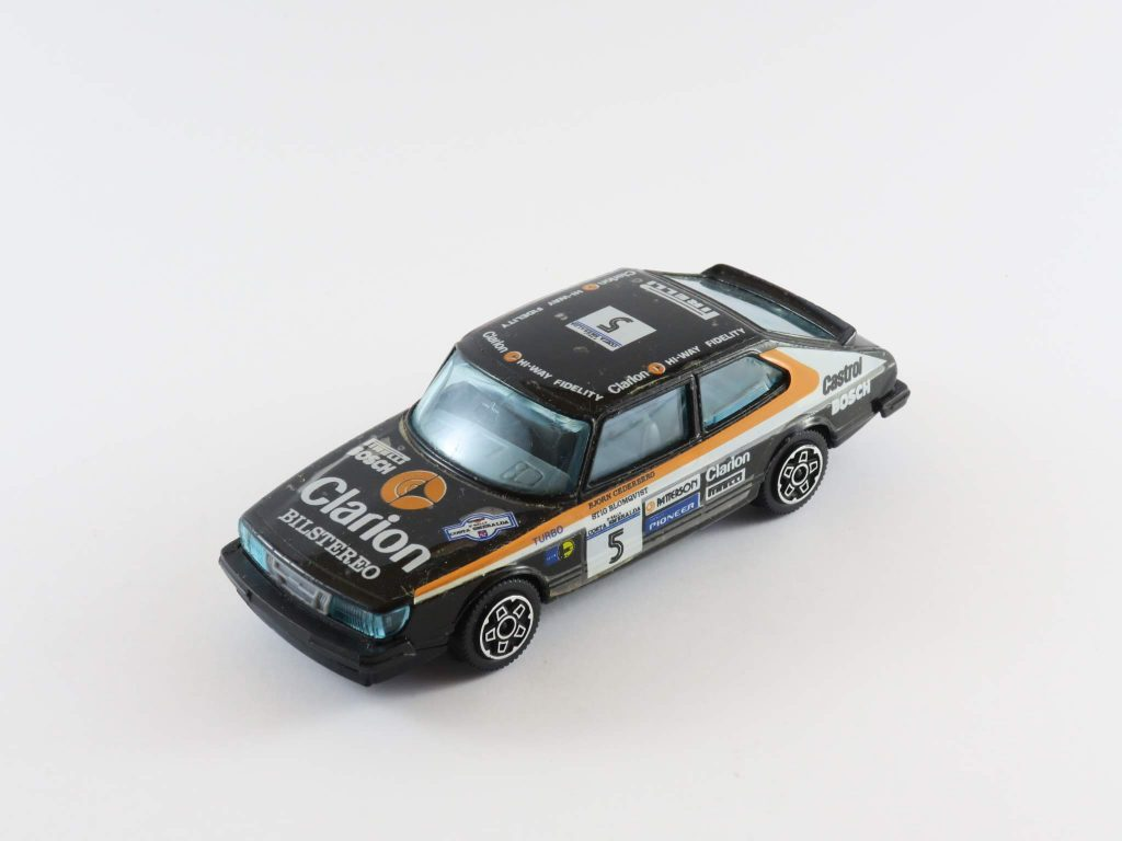 Saab 900 Coupé Turbo Costa Smeralda Rally 1982 – Burago