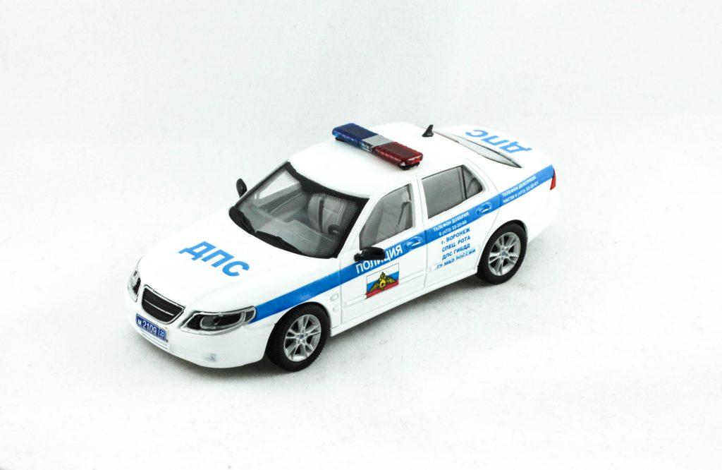 Saab 9-5 Russian Police – Zim Models