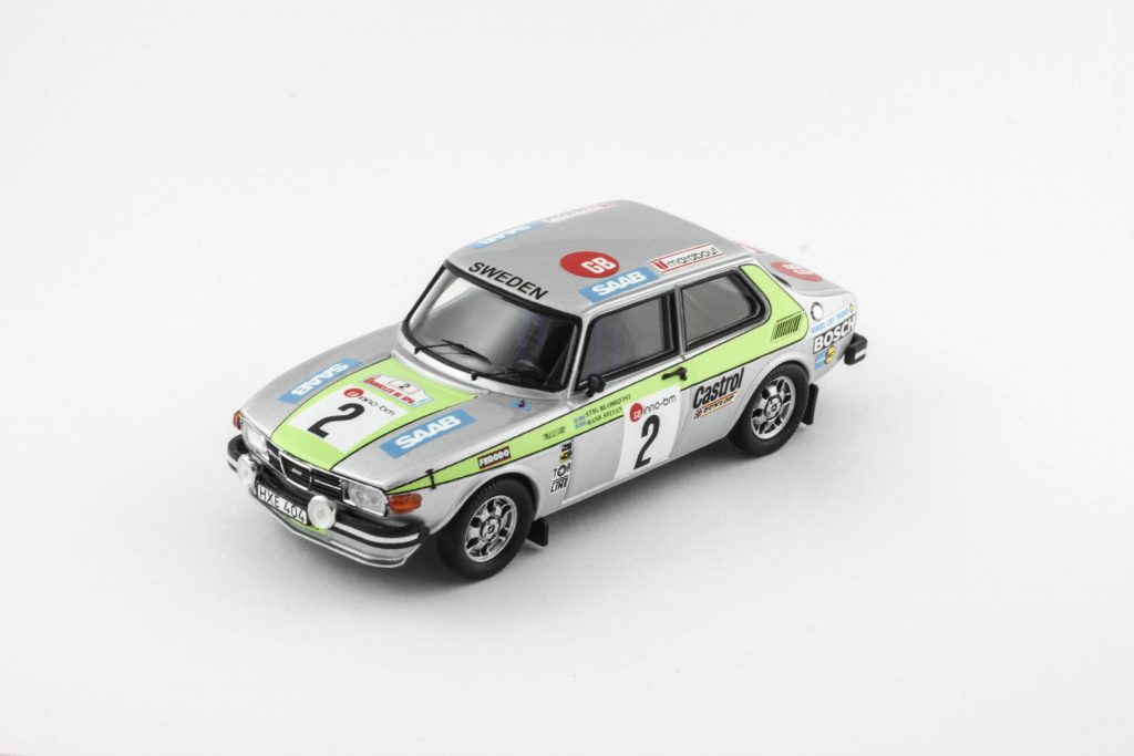SAAB 99 EMS RALLY SPA 1976 – Troféu