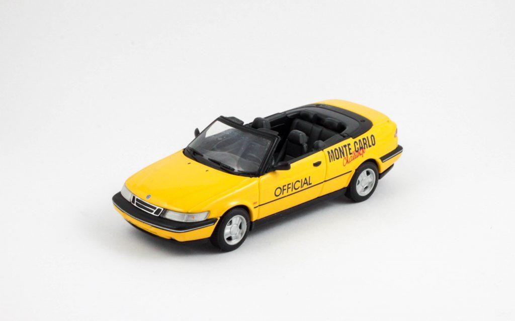 """Saab 900 SE Cabrio 1995 """"Monte Carlo Challenge"""" – Minichamps"""