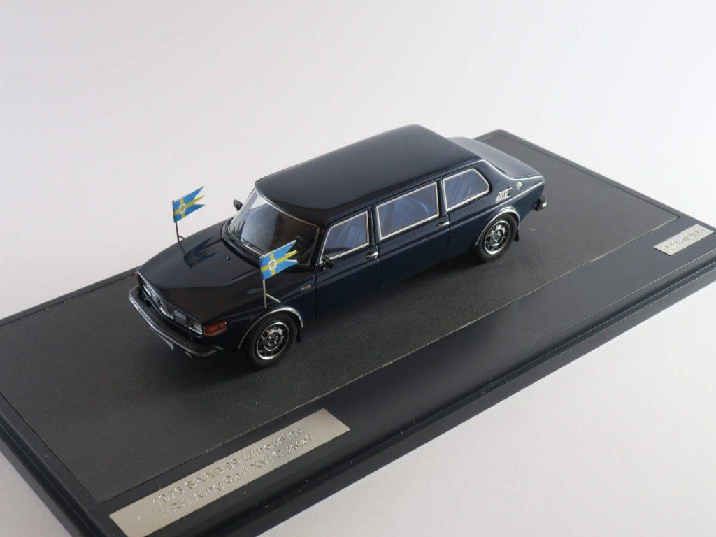 Saab 99 Limousine HRH King Carl XVI Gustav 1976 – Matrix