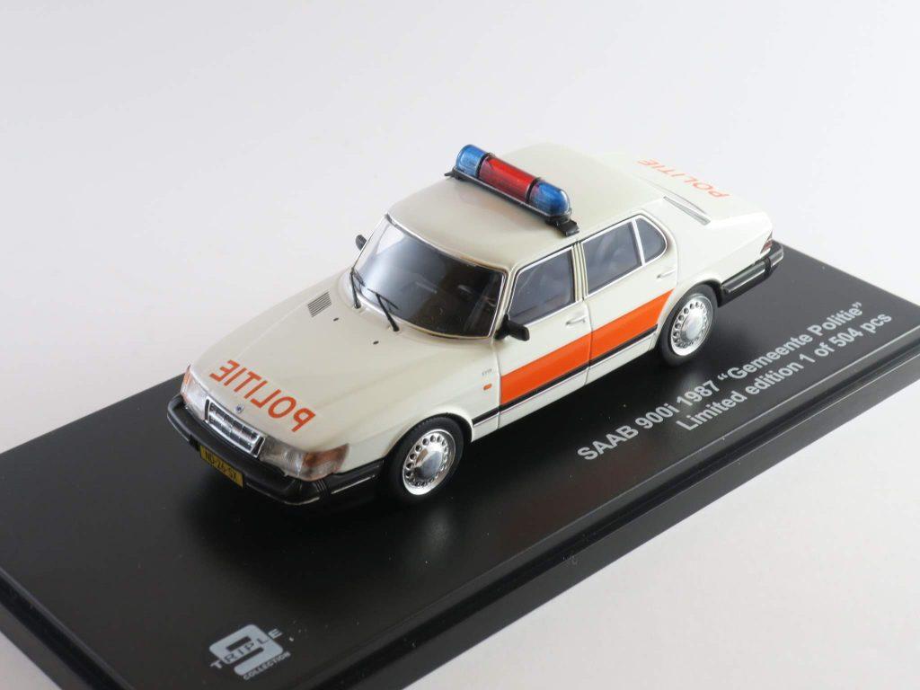 """Saab 900i """"Gemeente Politie"""" 1987 – Triple 9"""
