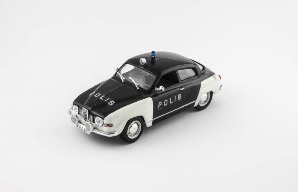 Saab 96 V4 1970 Sweden Police – IXO (Code 3)