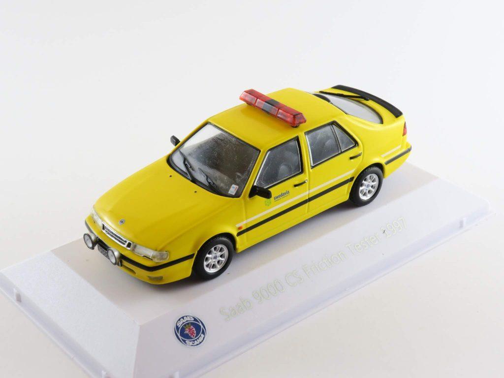Saab 9000 CS Friction Tester 1997 – Atlas Saab Car Museum