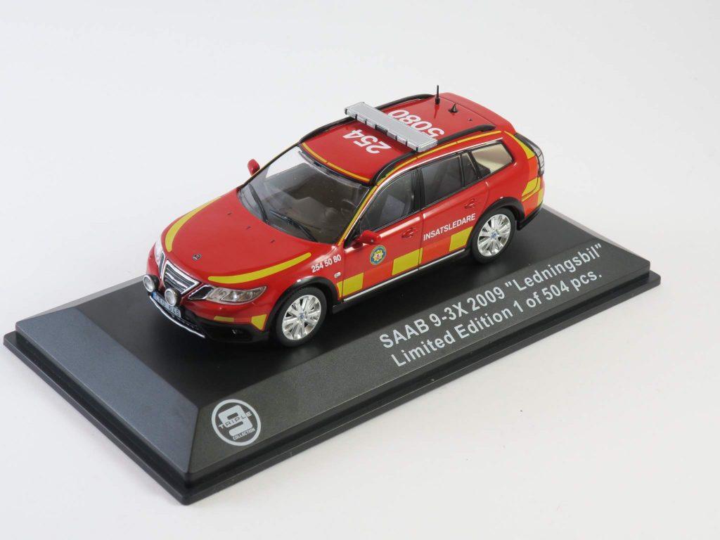 """Saab 9-3 X 2010 """"Ledningsbil"""" – Triple 9"""