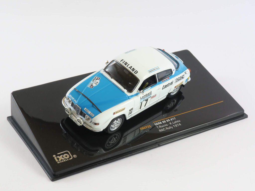 Saab 96 V4 Rally 1974 – IXO