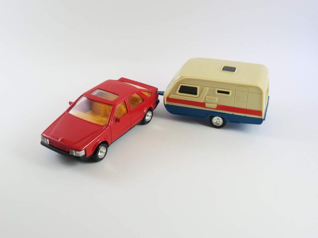 Saab 9000 with Caravan 1985 – Kees